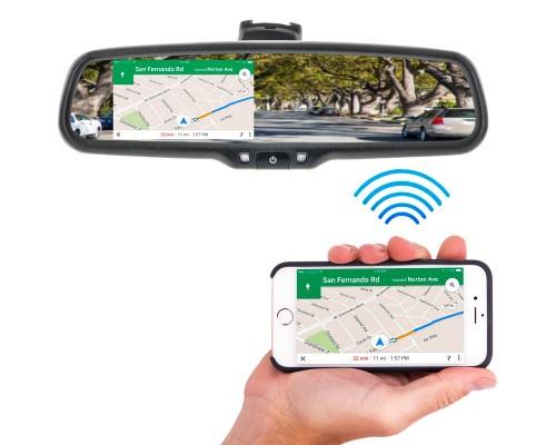 Boyo VTW43M 4.3 Inch Digital Rear View Mirror Monitor