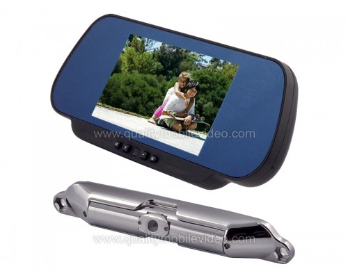DISCONTINUED - Boyo VTC461RB Wireless 2.4GHz Bar Type Camera with 6 inch Clip On LCD Mirror Monitor