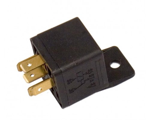 Bosch 12 VDC Automotive 5-Pin SPDT Relay 20/30 amp - Contacts