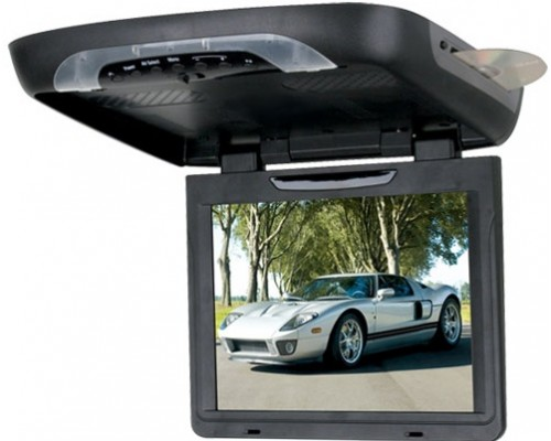 "DISCONTINUED - Boss Audio BV12.1BGT 12.1"" Overhead Flip down monitor with DVD player"