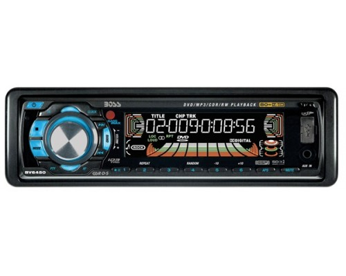 Discontinued - Boss Audio BV6450 In Dash DVD Player with AM/FM Tuner and Amplifier