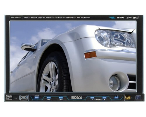"""DISCONTINUED - Boss Audio BV8970 Double Din 8"""" DVD In-Dash Receiver"""