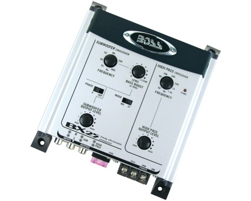 Boss Audio BX25 2-Way Electronic Crossover