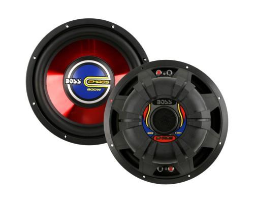 Boss CH153DVC 15 Inch Dual Voice Coil High Power Chaos Subwoofer - 1000W Max Power Handling