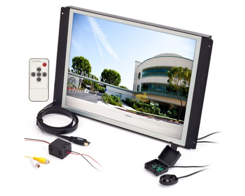 Clarus RP-154 15.4 Inch Raw LCD Monitor - Front right