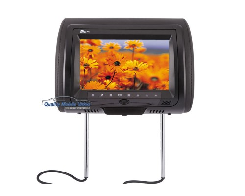 DISCONTINUED - Concept CLD-902 Chameleon 9 Inch Universal Headrest LCD Monitor with Built-In DVD Player and Interchangeable Skins