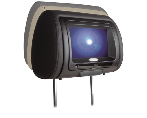 """Concept CLT-700 7"""" Chameleon Headrest Digital Led Touch screen Panel With Built-In DVD Player & Color Covers"""
