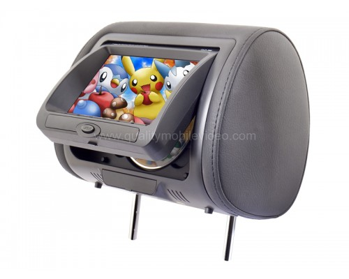 Concept CLD-700 DVD Headrest Monitors with three color skins