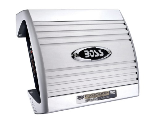 Discontinued - Boss CX2000 CHAOS EXXTREME Series 2000-Watt Monoblock MOSFET Amplifier with Subwoofer Level Control