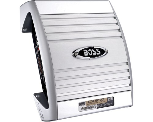 Discontinued - Boss CX550 CHAOS EXXTREME Series 800-Watt 2-Channel MOSFET Bridgeable Amplifier with Remote Level Control800