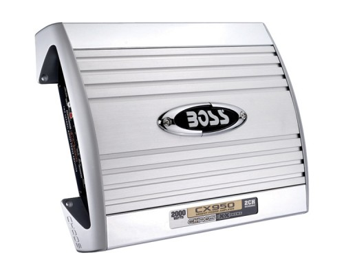 Discontinued - Boss CX950 CHAOS EXXTREME Series 2000-Watt 2-Channel MOSFET Bridgeable Amplifier with Remote Level Control