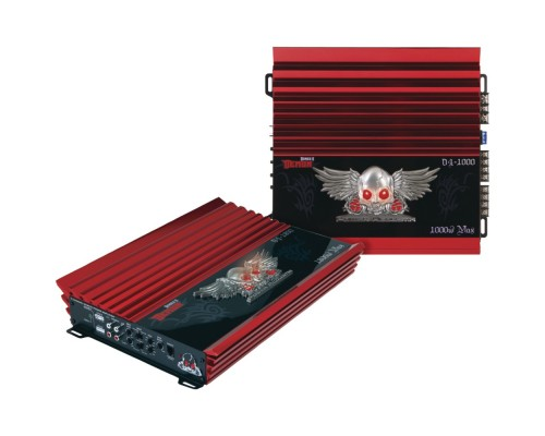 Discontinued - Power Acoustik D1-2000D Demon Series Class D Monoblock Amplifier, 2000W