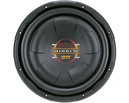 Boss D10F 10 Inch Diablo Series Low Profile Subwoofer