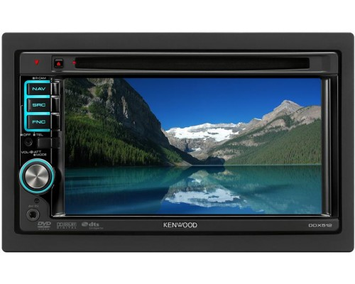 DISCONTINUED - Kenwood DDX512 Full Featured DVD Entertainment System