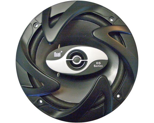 Discontinued - Dual DS-652 6.5 Inch Coaxial Speakers - 3-Way, 50W rms/100W Max Power