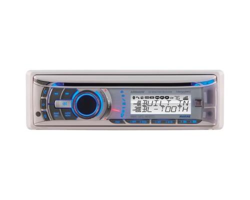Dual AMB600W Marine Single-Din CD Receiver with Bluetooth®, Weatherband & iPod® Control