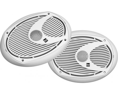 "Dual DM-S692 6"" X 9"" 2-Way Marine Speakers"
