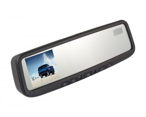 DISCONTINUED - Gentex 50-GENK3545 3.5 inch Electrochromic Auto-Dimming Rear View Mirror Monitor