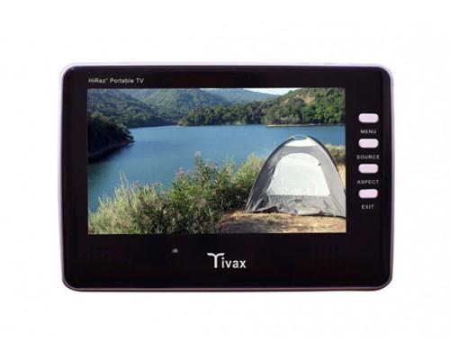 "DISCONTINUED - Tivax HIREZ7 7"" Widescreen Portable Digital LCD TV"