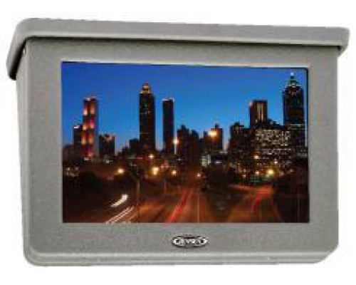 "Jensen JE1569BMK 15.4"" Flat Panel Fixed LCD Monitor for Bus and Van"