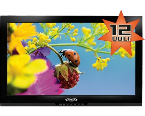 """DISCONTINUED - Jensen JE2212LEDRTL 22"""" LED TV with AC/DC adapter and table stand"""