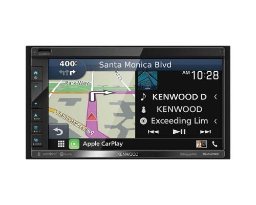 "Kenwood DNR476S Double DIN 6.8"" In-Dash Digital Media Receiver with Garmin Navigation"