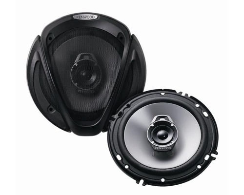DISCONTINUED - Kenwood KFC-1662S 6.5 Inch 3-way Car Speaker System