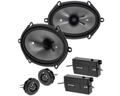 Kicker CSS69 6 x 9 inch Car Speaker Component System - Main
