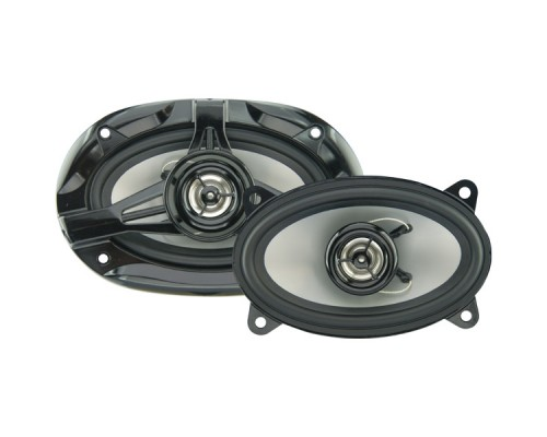 "Discontinued - Power Acoustik KP-462N KP Series 4x6 Inch 2-Way Speakers - 180-Watts, 10 ounce Magnet With 1"" Voice Coil"