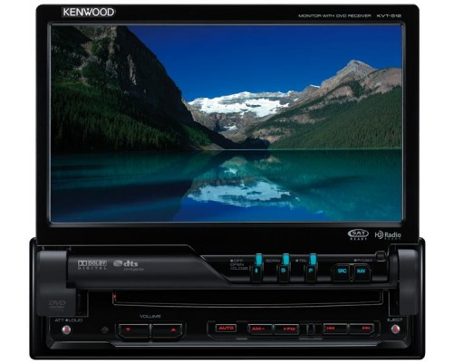 DISCONTINUED - Kenwood KVT-512 Full Featured DVD Entertainment System