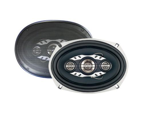 Discontinued - Boss LA694 OUTCAST 6x9 Inch 4-Way Speaker Diecast Aluminum Frame