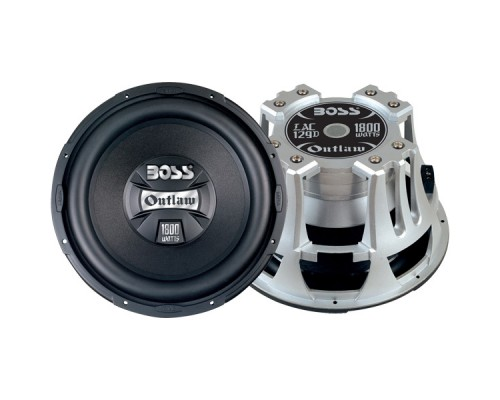 Discontinued - Boss LAC129D OUTCAST Series 12 Inch Dual Subwoofer with Diecast Aluminum Frame