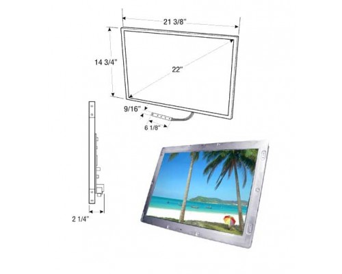 """Accelevision LCD22 22"""" Accelevision TFT Raw Module"""