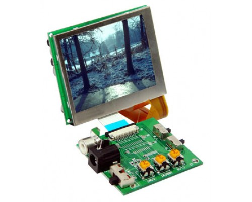 """Accelevision LCD25L 2.5"""" LED back lite raw LCD module"""