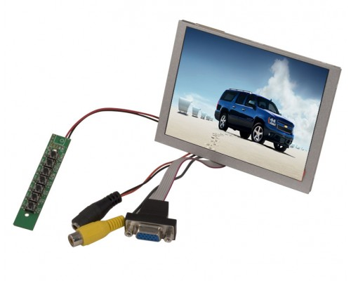 """DISCONTINUED - Accelevision LCD5LVGA 5"""" LED back lite raw led module with VGA"""