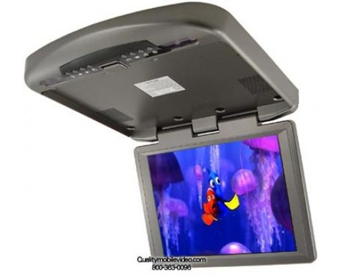 """DISCONTINUED - Accelevision LCDFD12 12"""" Overhead Flip down Video Car Monitor"""