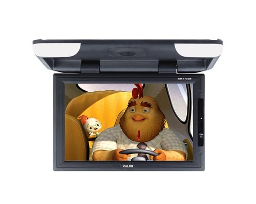 "DISCONTINUED - Gryphon Mobile MV-RF1799W 17"" Widescreen Overhead Flip down Monitor"