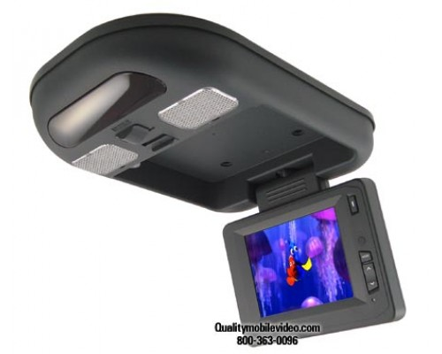 """DISCONTINUED - Accelevision LCDFD6GL 6"""" Accelevision TFT Flip down Monitor"""
