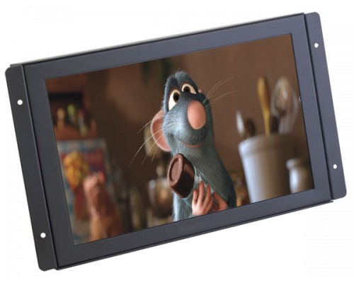 Quality Mobile Video LCDM11W 11 inch Widescreen Metal Housed LCD Monitor