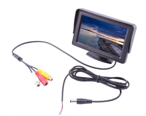 """Accelevision LCDP43LW 4.3"""" LCD Monitor"""