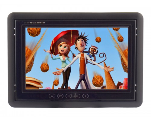 Accelevision LCDP700VGATS 7 Inch Tocuhscreen Raw Module and LCD Monitor with VGA Input