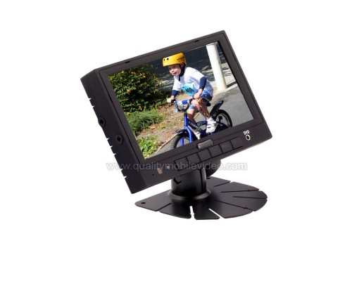 Accelevision LCDRV700 Universal 7 inch LCD Monitor for Commercial Vehicles and RV (Quad View Optional)