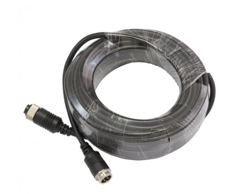 Safesight TOP-CBL30 30 Foot Commercial Grade 4 Pin back up camera cable