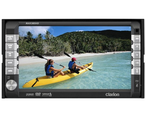 """Clarion MAX385VD Clarion MAX385VD 6.5"""" Touch screen In Dash Monitor"""