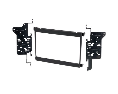 Metra 95-8157B Black Dash Kit Turbokit Double Din for Lexus - Main