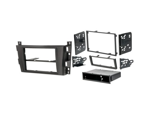 Metra 99-2008 Dash Kit Turbokit Double DIN General Motors Cadillac DTS 2006-2009 and SRX 2007-2009 Vehicles - Main