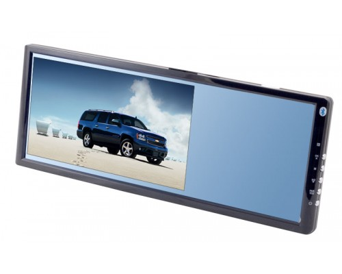 DISCONTINUED - Gryphon Mobile MV-RM70BT 7 inch rear view mirror monitor with built in Bluetooth