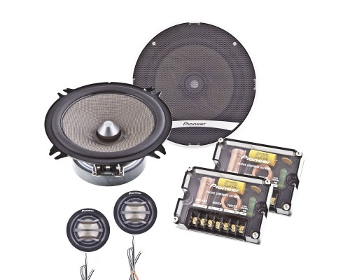 Pioneer TS-D1320C 5 1/4 Inch Car Component Speakers - System