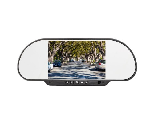 Boyo VTM600M Rear View Mirror LCD Monitor - Front View