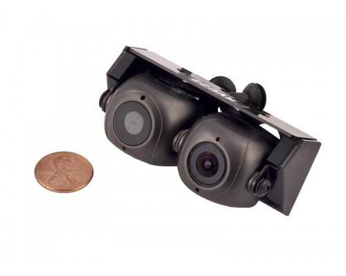DISCONTINUED - Accelevision RVC22 Twin Reverse Parking Dual Angle View Back Up Camera System on a Single Mount
